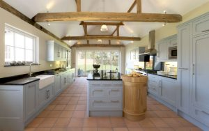 Modern Shaker Kitchen designs Knebworth